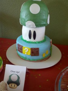 One Up Cake