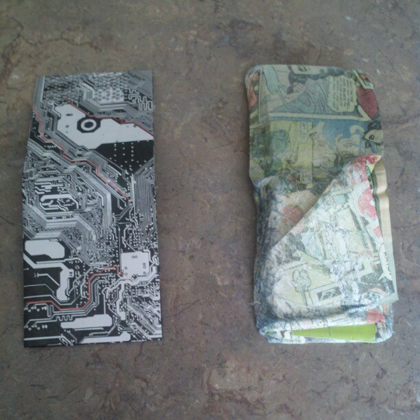 New Might Wallet vs old